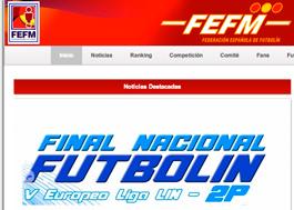 Federación de españa de futbolin