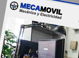 Taller de reparaciones Mecamovil proyecto realizado por esdide